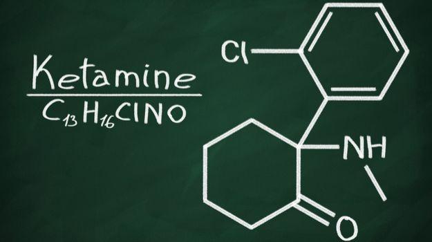 Ketamine Molecule