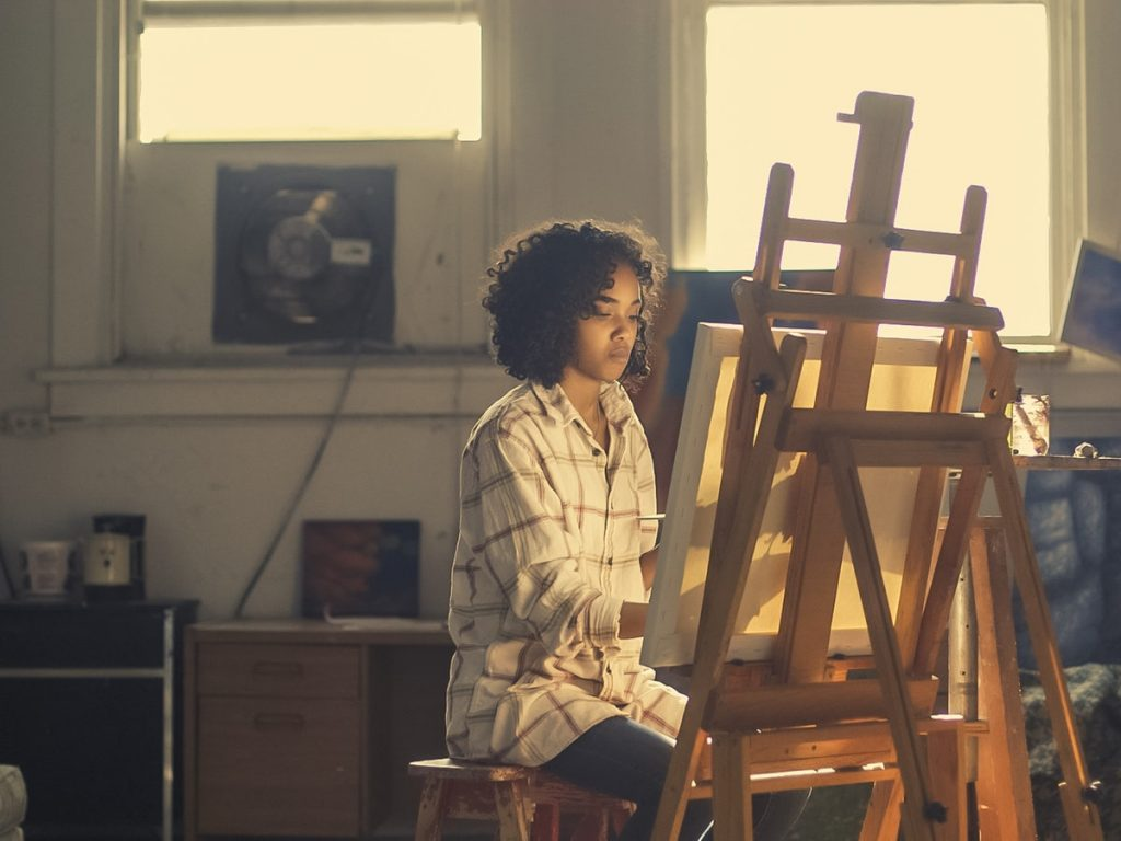 Painting as Therapy