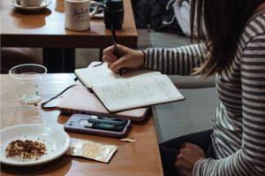 studying reading thinking
